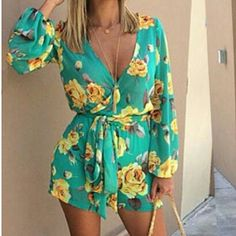 NWOT Gorgeous Romper Very beautiful. There is no brand on it (I only list it under this brand for exposure.) Fits S and M Free People Dresses Mini