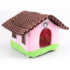 LXLP Pet House Supplies Dog House Cottages Cat Dog Bed House Kennel Doggy Warm Cushion Basket ** To view further for this item, visit the image link. (This is an affiliate link and I receive a commission for the sales)