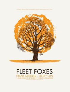 Fleet Foxes, Frank Fairfield and Sleepy Sun at the Independent in San Francisco, by Lil Tuffy
