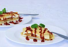 THERMOMIX: Crepes de fubá com queijo e goiabada