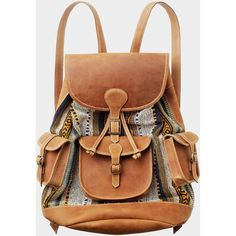 Toast Tapestry Rucksack ($370) ❤ liked on Polyvore