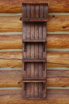 toboggan shelf