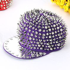Spike cap morado via 7rock. Click on the image to see more!