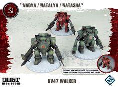 Dust Tactics Soviet Walkers