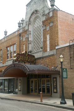 Take in a movie and also enjoy the historic Saenger Theatre in Downtown Mobile, Alabama