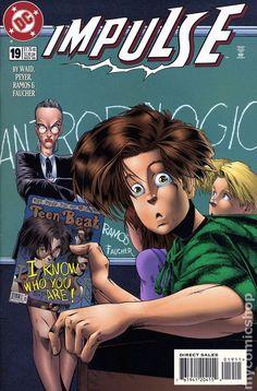 Impulse (1995) 19DC Comic Book cover Modern Age