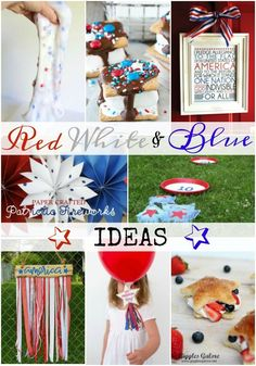 Red White & Blue Ins