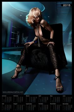 New big size (58x88 cm) poster-calendars with luxury fashion ladies in our online-shop http://www.cafepress.com/alekseymarinashop/10474255