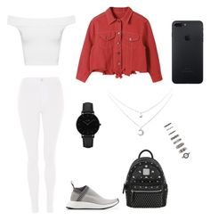 """polyvore"" by jesy-smith on Polyvore featuring mode, Topshop, adidas Originals, MCM, WearAll, CLUSE et Forever 21"