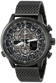 Citizen Eco-Drive Men s Navihawk A-T Stainless Steel Chronograph Watch 2ecec0a405