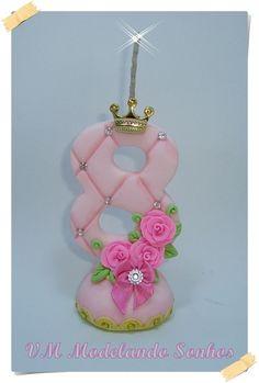 Vela Decorada Tema Princesa - Realesa