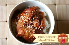 Crockpot Apricot Chicken - Today's Creative Blog