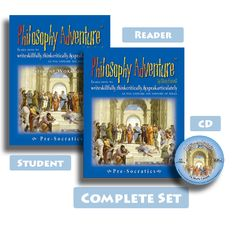 Philosophy Adventure™ is a program designed to help students 6th-12th grade cultivate and defend a biblical worldview by teaching them how to write skillfully, think critically, and speak articulately as they explore the history of ideas.