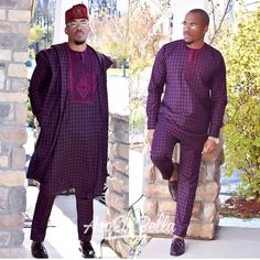 Hello,Today we bring to you 'Latest Agbada Styles for Men' from the African Fashion Community. African Wear Styles For Men, African Shirts For Men, African Dresses Men, African Attire For Men, African Clothing For Men, Traditional African Clothing, African Clothes, African Lace, African Style