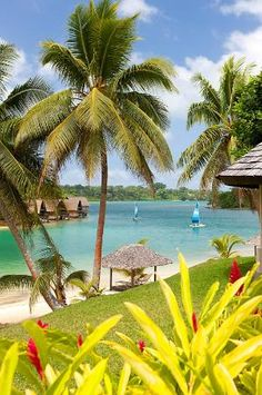just another day in paradise at Holiday Inn Resort, Vanuatu. Vanuatu Port Vila, Beautiful World, Beautiful Places, Another Day In Paradise, Tropical Beaches, Tropical Paradise, South Pacific, Beach Trip, Kayaking