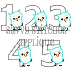 Hey, I found this really awesome Etsy listing at http://www.etsy.com/listing/161917729/owl-birthday-numbers-1-5-machine