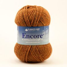 Encore Worsted - Item 611 | Plymouth Yarn page of yarn colors with names as well as numbers.