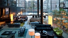 Conservatorium Hotel, Amsterdam, The Netherlands  Des. Piero Lissoni