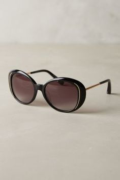 Elizabeth & James Elizabeth and James Lombardi Sunglasses Black One Size Eyewear  #anthrofave