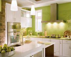 mattonelle per cucina ORIZZONTALI VERDE - Cerca con Google