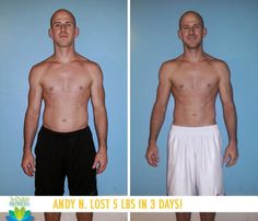 """Beachbody 3 Day Refresh review: Andy N. lost 5 lbs in 3 days with the 3-Day Refresh! """"It really doesn't get any easier! Even if you're really busy or traveling, you can get a jump start. The meals are very simple to make and prep, and you will not only feel rejuvenated and refreshed, but also like you have control again. It's actually very empowering!"""" http://www.onesteptoweightloss.com/lose-weight-quick-3-day-detox #3DayWeightLoss"""