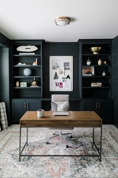 Let us bring your design ideas to life! Home Room Design, Dream Home Design, Home Office Design, Home Interior Design, House Design, Modern Interior, Home Office Setup, Home Office Space, Man Office Decor