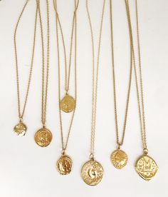 Kim Kardashian Gold Coin Necklace
