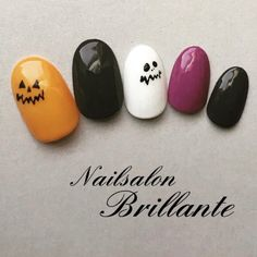 Autumn Halloween Party Hand One Color Nina Nail Design? Nail book Free pattern and Tu. : Autumn Halloween Party Hand One Color Nina Nail Design? Nail Manicure, Diy Nails, Cute Nails, Nail Polish, Mani Pedi, Halloween Nail Designs, Halloween Nail Art, Halloween Party, Ninas Nails