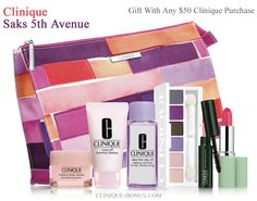 This is Clinique GWP at Saks. But also a gwp at Bloomingdales is starting today. check out these promtions: http://clinique-bonus.com/other-us-stores/