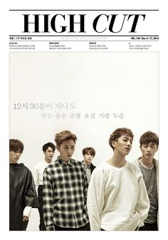High Cut Korea Magazine Vol.139 December 2014 Cover: BEAST