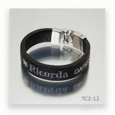 Leather Bracers, Black Leather, Hand Embroidery, Fashion Bracelets, Men's Leather, Man Women, Steel, Silver