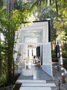 Inspiration moderne et design pour une maison d'architecte dans la jungle. #inspiration #architecture