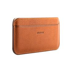 iPhone 6 Plus Leather Wallet Case in Cuoio