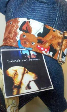 Soñando con Perros: COLLAR MARTINGALE Y CORREA [PERROS DE COMIC] PARA SANDRA Y KIDOS...