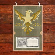 2012 eagle calendar from Hammerpress