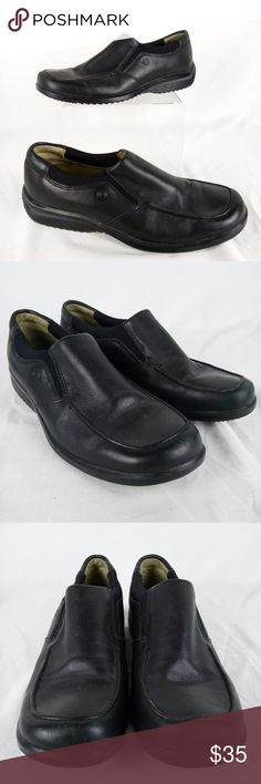 Rockport Loafers Women Size 7 Black Leather