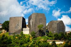 Parque Biblioteca Espana by architect Giancarlo Mazzanti