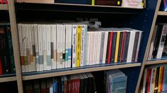 Some of the many independent publishers to be found in the shop.