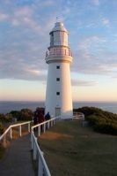 Cape Otway Lightstation is the oldest, surviving lighthouse in mainland Australia. The light, which has been in continuous operation since 1848, is perched on towering sea cliffs where Bass Strait and the Southern Ocean collide. For thousands of immigrants, after many months at sea, Cape Otway was their first sight of land after leaving Europe.