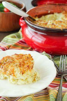 "Belorussian Potato and Cheese ""Souffle"" Babka"