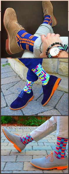 Let the world know your sock game is not to be played with.