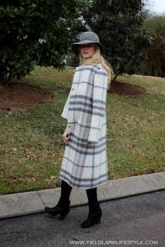 Field Lark Lifestyle: Winter Plaid