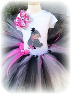 The tutu is made with over 100 yards of tulle and constructed on a sewn elastic band so it will stretch and last longer. Our shirts are embroidered on high quality 100% cotton tshirts so you dont have to worry about the designs washing off. This is a 3 piece set.    Please leave the following in ...