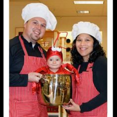 Chefs and Lobster-Cute Halloween Costume!