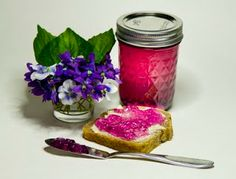 The 3 Foragers: Foraging for Wild, Natural, Organic Food: Violet Recipe - Violet Jelly