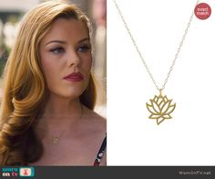 96fd5f935c AnnaBeth s flower pendant necklace on Hart of Dixie. Outfit Details  http