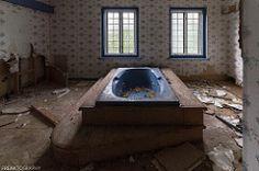 Bathtub in Abandoned Mansion