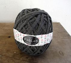 yarn made from old t-shirts/clothes and unraveled clothing