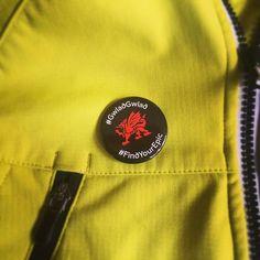 Wearing our badges with pride today! #findyourepic #WalesAdventure #visitwales #livetoride #mtblife #mtb #mbwales #mtbwales #mountainbike #mountainbiking #Wales #Cymru