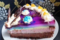 Słodko i wytrawnie. : Tort czekoladowo-  malinowy